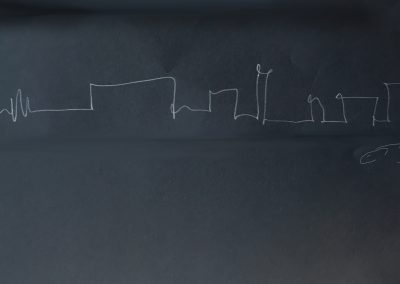 SKYLINE B sketch | FUORISALONE TRIENNALE MAILAND 2018 | © EBB