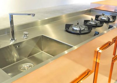 SEMPLICE COPPER work top